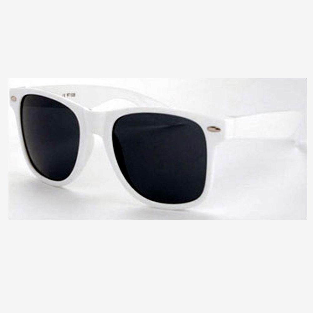 Универсални слънчеви очила с бели рамки