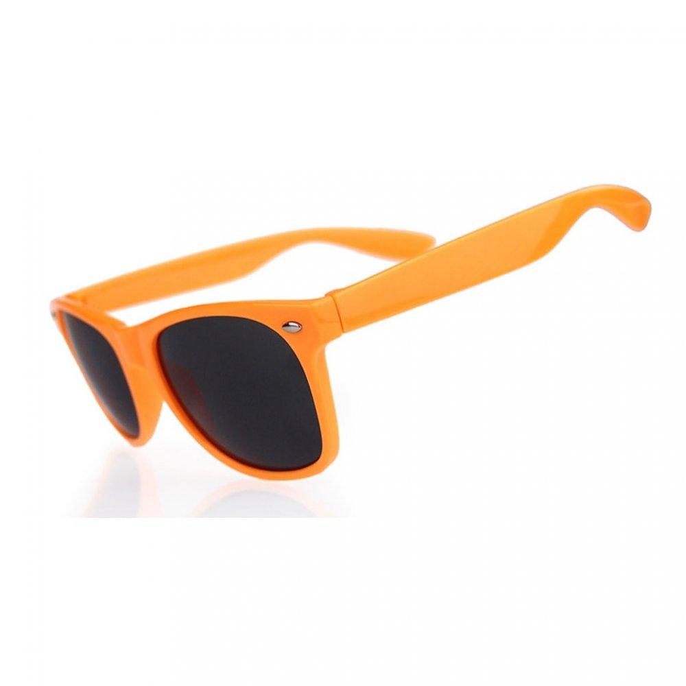 Универсални слънчеви очила с оранжеви рамки