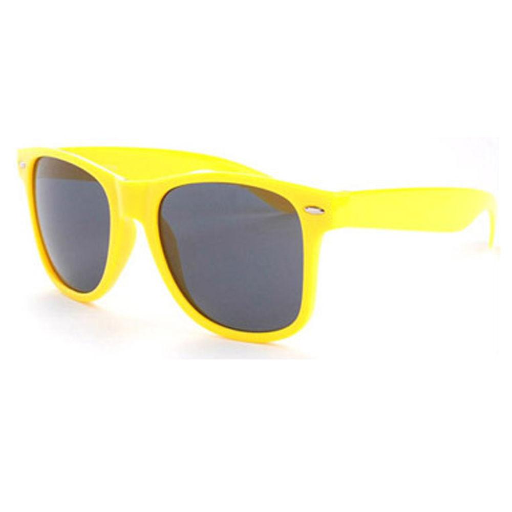 Универсални слънчеви очила с жълти рамки