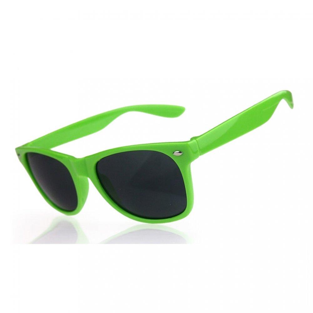 Универсални слънчеви очила със зелени рамки