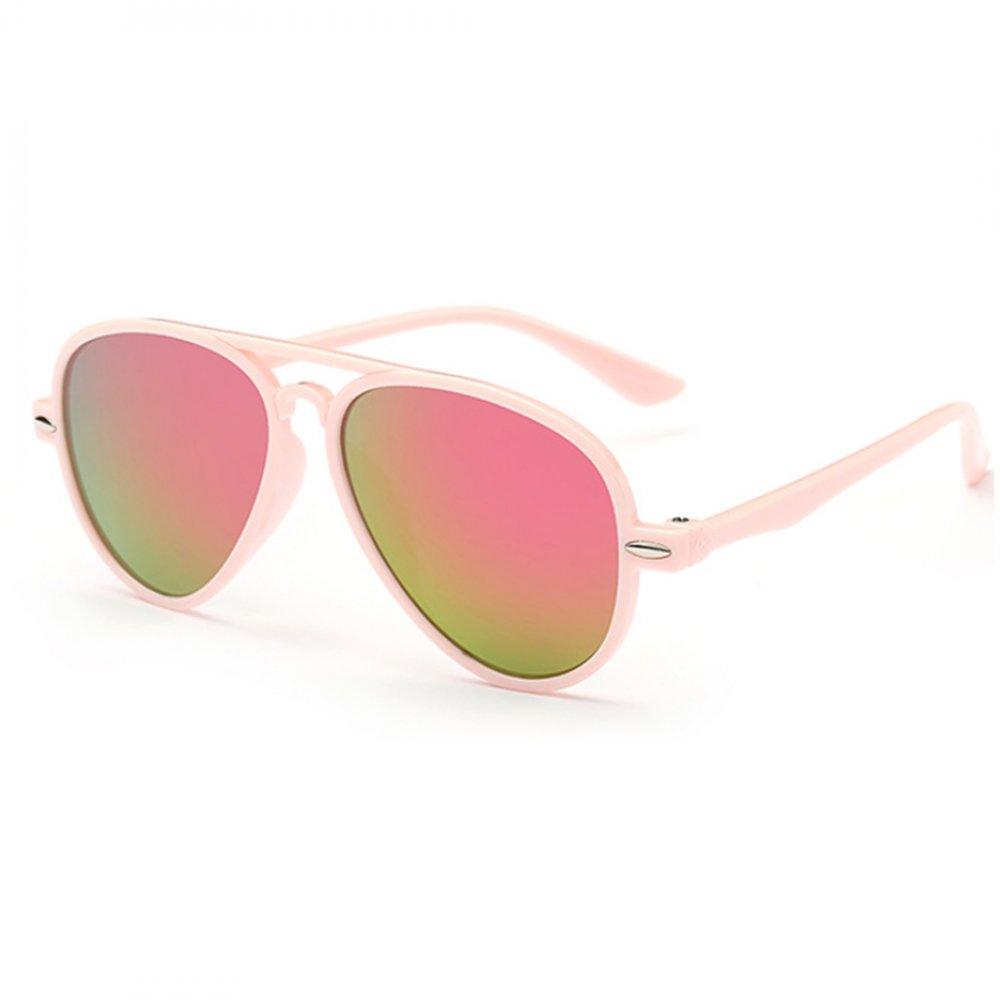 Универсални слънчеви розови детски очила