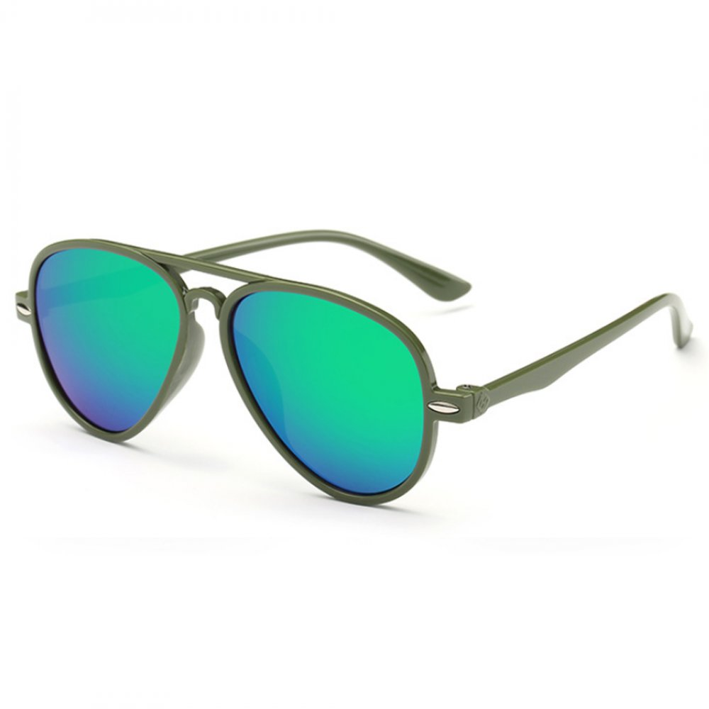 Универсални слънчеви зелени детски очила