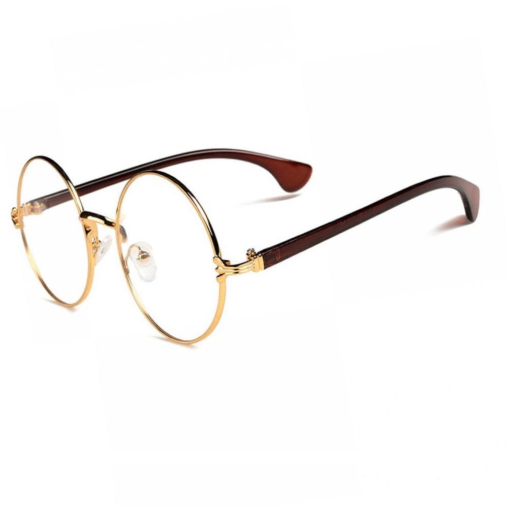 Универсални стилни прозрачни кръгли очила