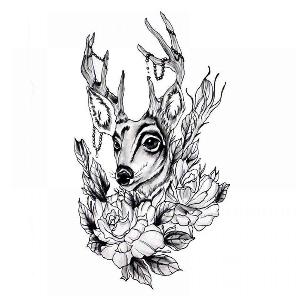 Водоустойчиво изображение на млад елен