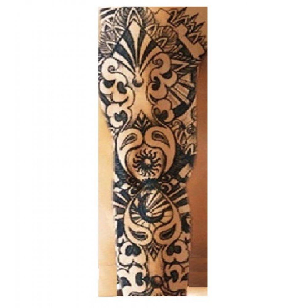 Временна татуировка 46 сантиметра симетрия