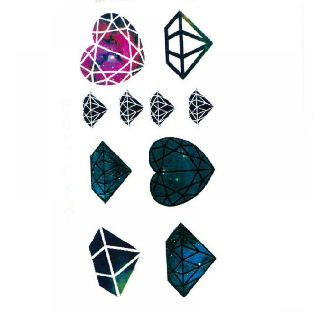 Временна татуировка диаманти