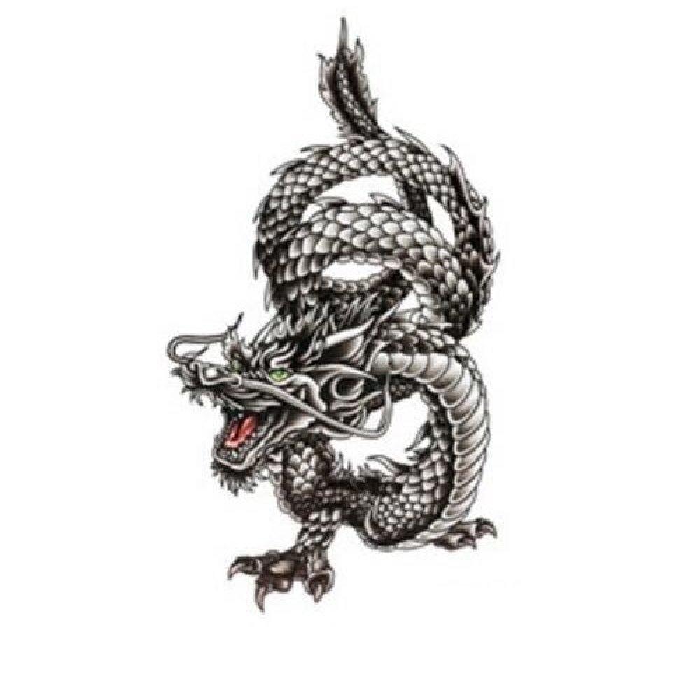 Временна татуировка, китайски дракон