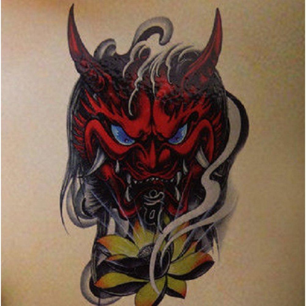 Временна татуировка на демон