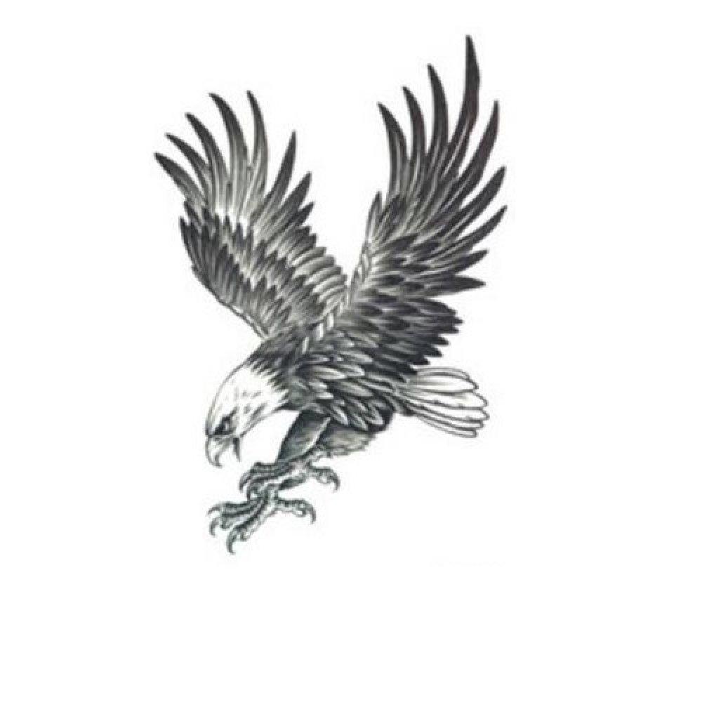 Временна татуировка, орел