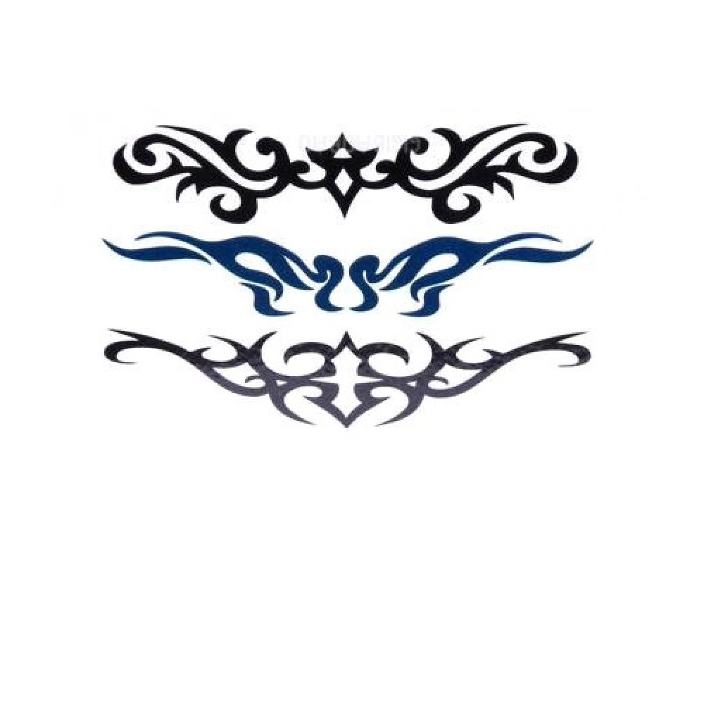 Временна татуировка, плетеница