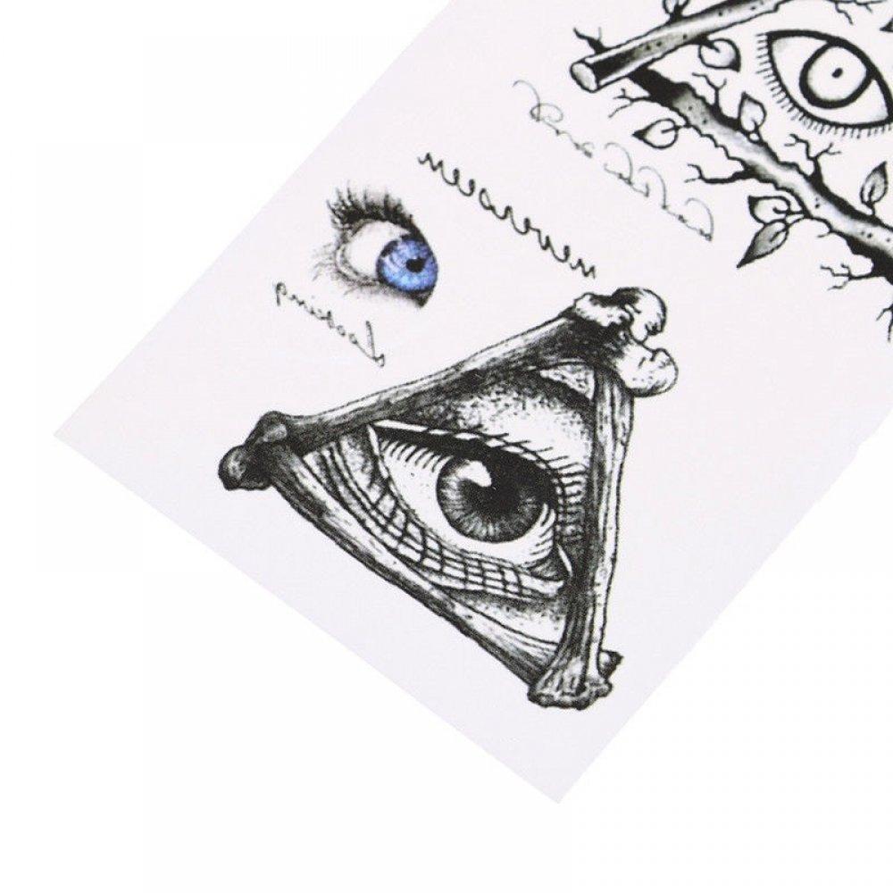 Временни татуировки окото