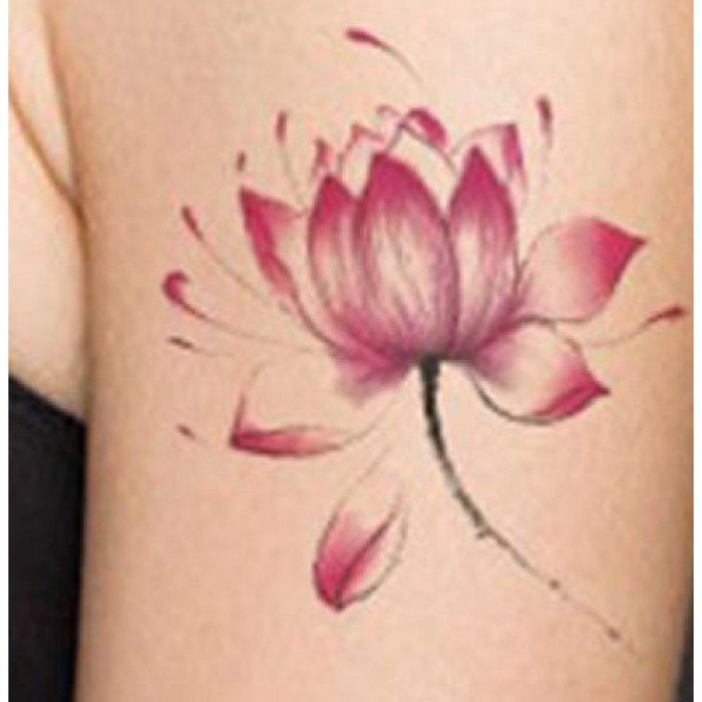 Временни татуировки цветя