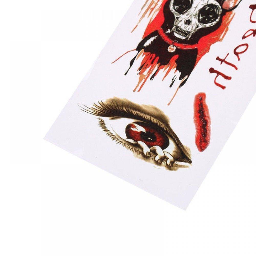 Временни татуировки за Хелоуин