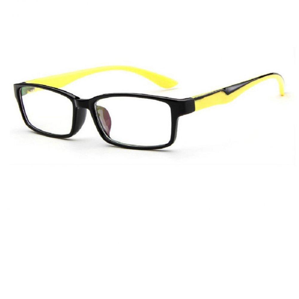 Жълто черни очила с меки рамки