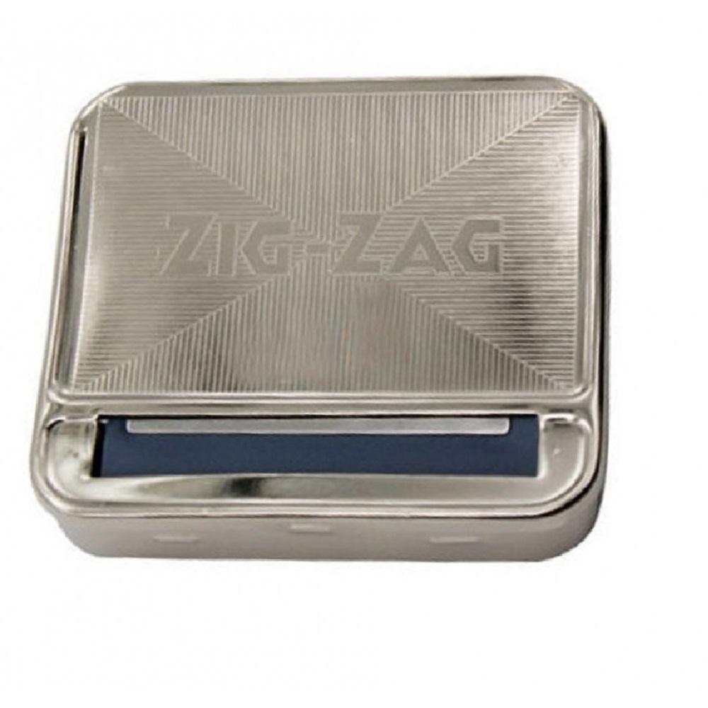 Zig-Zag табакера с машинка за свиване на цигари