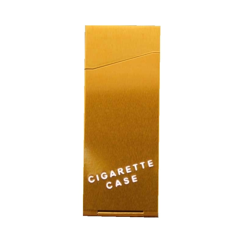Златна табакера за слим цигари
